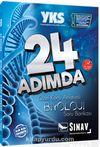 YKS 1. ve 2. Oturum Biyoloji 24 Adımda Özel Konu Anlatımlı Soru Bankası