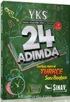 YKS 1. Oturum TYT Türkçe 24 Adımda Özel Konu Anlatımlı Soru Bankası