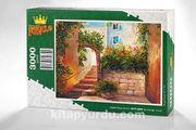 Yaz Sokağı - İtalya Ahşap Puzzle 3000 Parça (SK75-MMM)