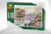 Çin Bahçesi Ahşap Puzzle 3000 Parça (CS75-MMM)