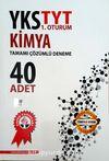 YKS TYT 1. Oturum Kimya Tamamı Çözümlü 40 Deneme