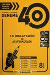 8. Sınıf T.C. İnkılap Tarihi ve Atatürkçülük 40 Deneme