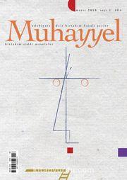 Muhayyel Dergisi Sayı:1 Mayıs 2018