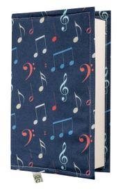 Kitap Kılıfı - Notalar (M - 31x21cm)