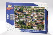Safranbolu Evleri Ahşap Puzzle 500 Parça (SY02-D)