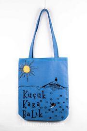 Küçük Karabalık Bez Çanta (Mavi) (KKB303)
