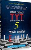 TYT Lemma Tamamı Çözümlü 5 Fasikül Deneme