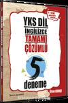 YKS Dil İngilizce Tamamı Çözümlü 5 Deneme