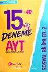 YKS AYT Sosyal Bilimler-2 15x40 Deneme