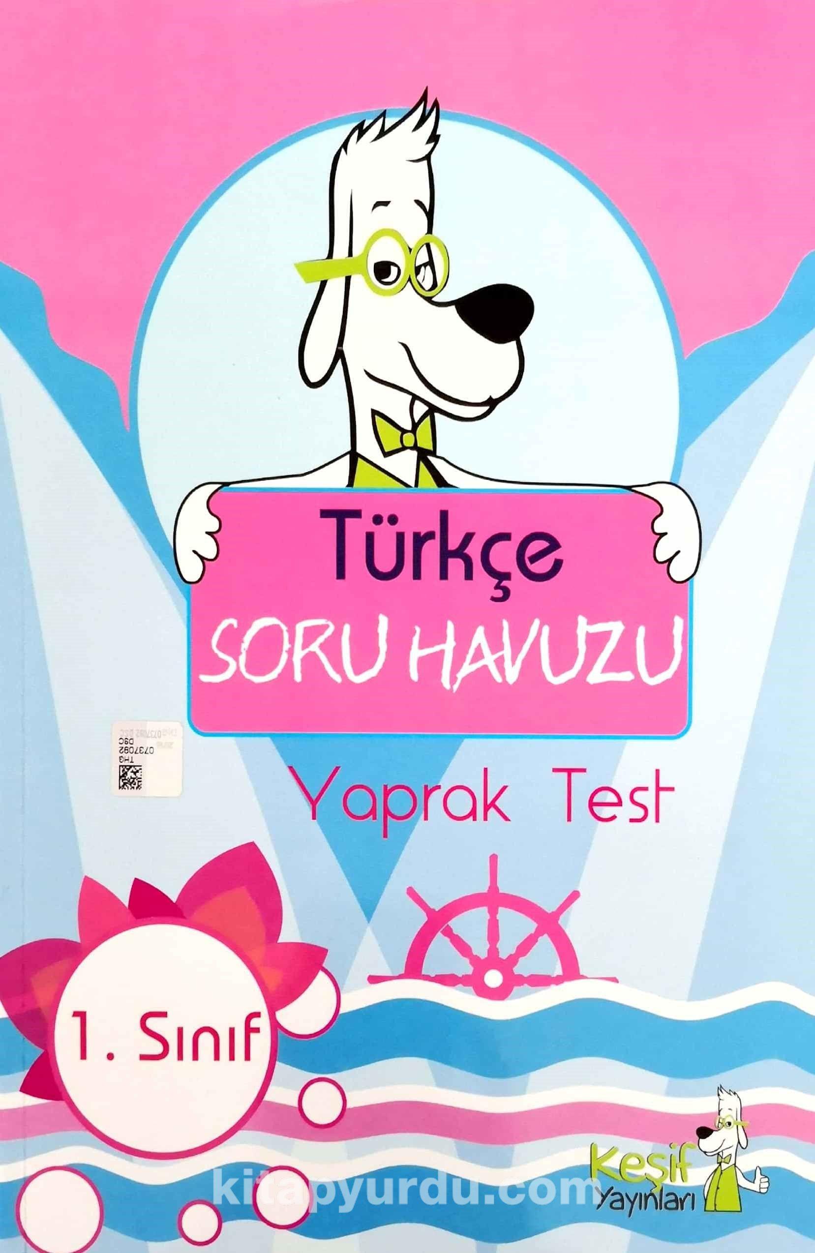 1. Sınıf Türkçe Soru Havuzu Yaprak Test - Kollektif pdf epub