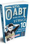2018 ÖABT Türkçe Öğretmenliği Tamamı Çözümlü 10 Deneme Sınavı