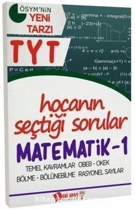 YKS 1. Oturum TYT Matematik 1 Hocanın Seçtiği Sorular - Kollektif pdf epub