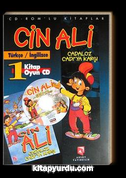 Cin Ali Cadaloz Cadı'ya Karşı / Türkçe-İngilizce (1 Kitap+1 Oyun Cd)