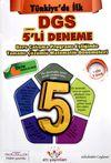 Türkiye de İlk Çalışma Programı Eşliğinde Tamamı Çözümlü Beşli DGS Matematik Denemeleri