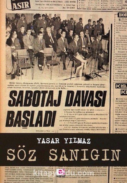 Söz Sanığın - Yaşar Yılmaz pdf epub
