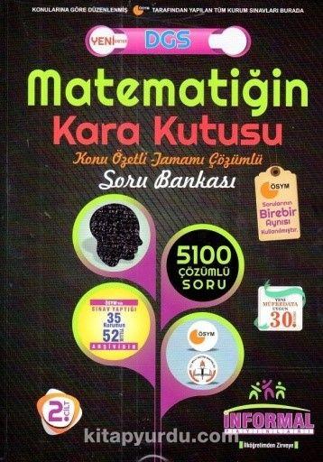 DGS Matematiğin Kara Kutusu Tamamı Çözümlü Soru Bankası 2. Cilt - Kollektif pdf epub