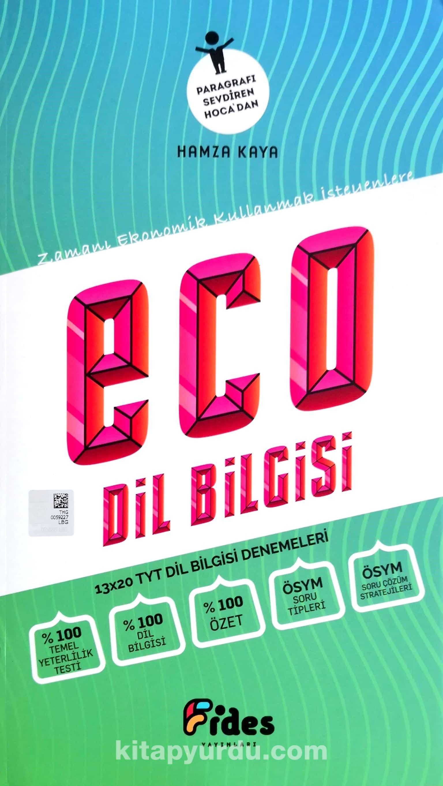 TYT Eco Dil Bilgisi Denemeleri - Hamza Kaya pdf epub