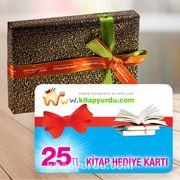 Kitap Hediye Kartı 20'li Paket (25 TL'lik)