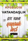 2018 KPSS Vatandaşlık Çek Kopar Yaprak Test
