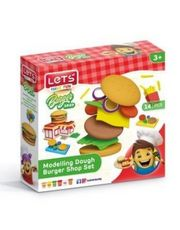 Oyun Hamuru Hamburger Seti (L9003)
