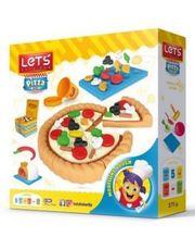 Oyun Hamuru Pizza Seti (L9004)