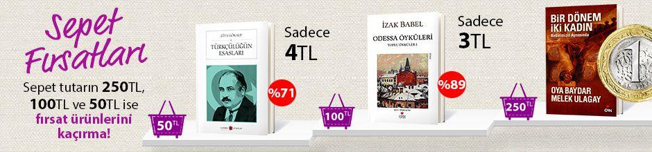 """50TL ve Üzeri Alışverişinize """"Türkçülüğün Esasları"""" Sadece 4TL"""