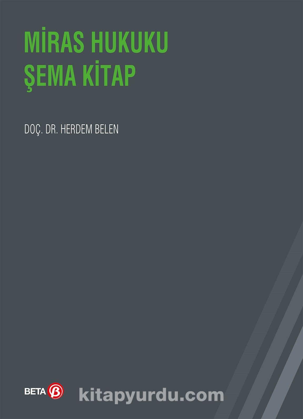 Miras Hukuku Şema Kitap - Dr. Herdem Belen pdf epub