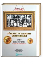 2017 Dibace Türk Dili ve Edebiyatı Öğretmenliği Çözümlü ÖABT 11'li Deneme