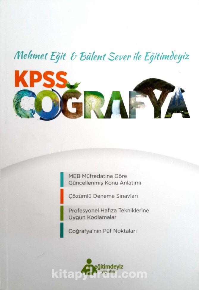 KPSS Coğrafya Mehmet Eğit ve Bülent Sever Eğitimdeyiz - Bülent Sever pdf epub