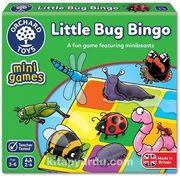 Sevimli Böcekler Tombala Mini Kutu Oyunu (3-6 Yaş)