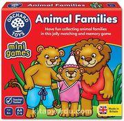 Sevimli Hayvanlar Üçlü Eşleştirme Hafıza Mini Kutu Oyunu (4+ Yaş)