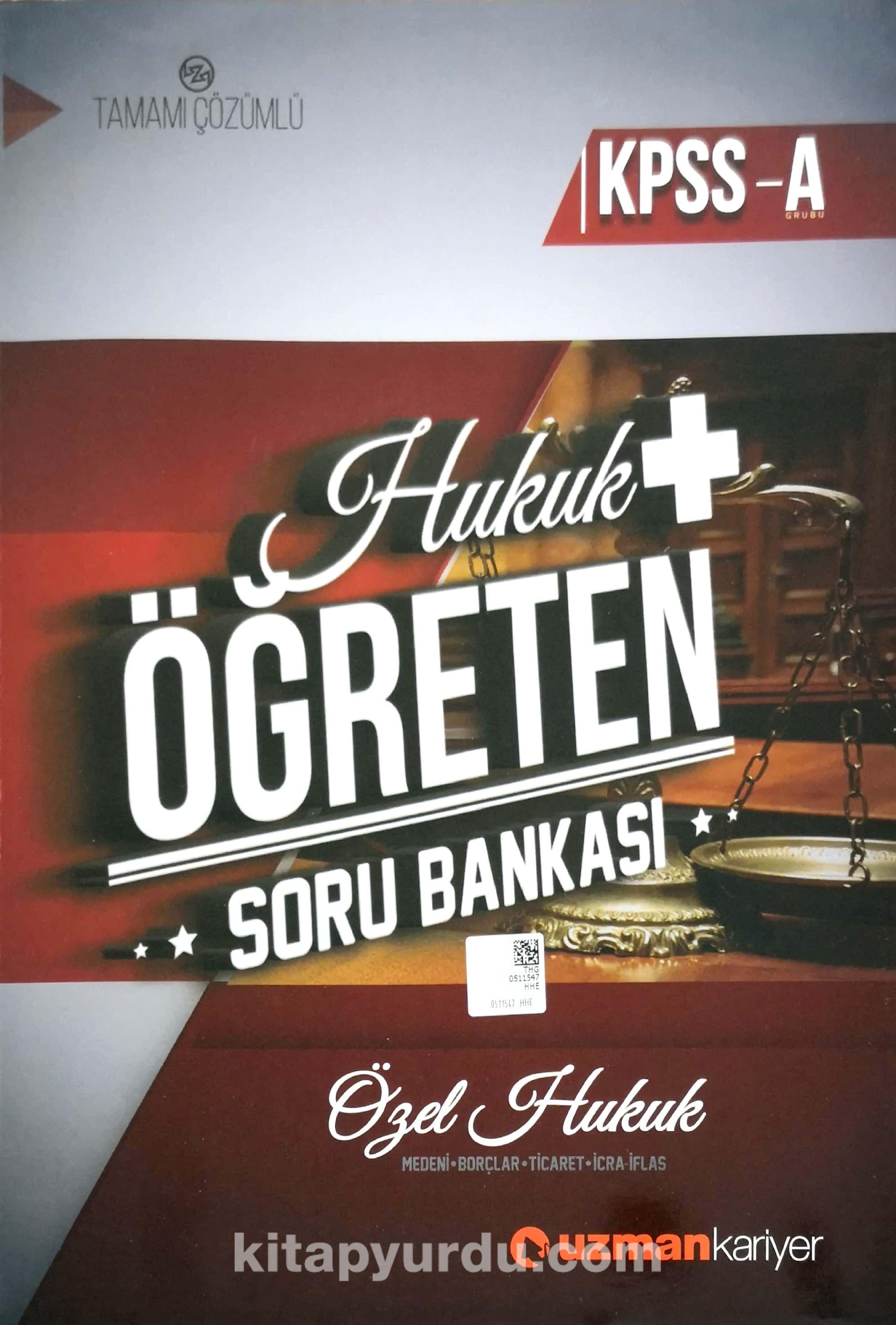 KPSS A Hukuk Öğreten Soru Bankası - Kollektif pdf epub