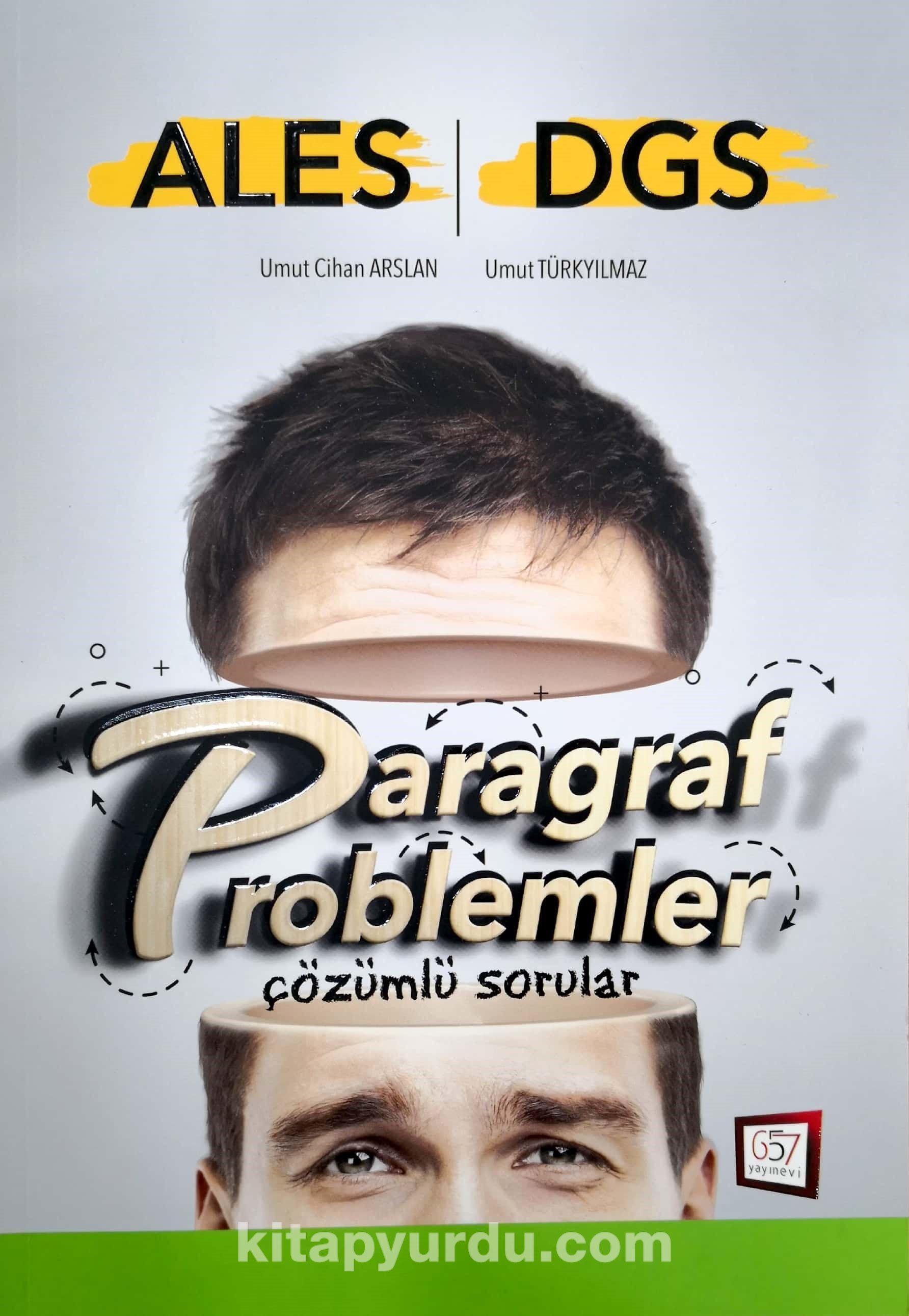 ALES DGS Paragraf Problemler Çözümlü Sorular - Umut Türkyılmaz pdf epub