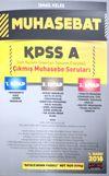 KPSS A Muhasebat Tüm Kurum Sınavları Çıkmış Muhasebe Soruları Modüler Set