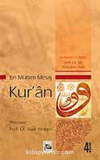 En Mühim Mesaj Kur'an - Muhammed Abdullah Draz pdf epub
