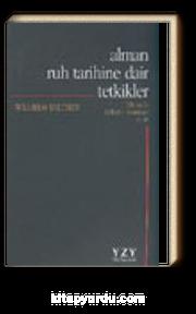 Alman Ruh Tarihine Dair Tetkikler