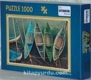 Kayıklar 1000 Parça Puzzle (68x48)