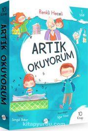 Artık Okuyorum Serisi Renkli Heceli 1. Sınıf (10 Kitap)