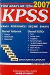 KPSS 2007 Genel Kültür Genel Yetenek / Sınav Soru ve Cevapları