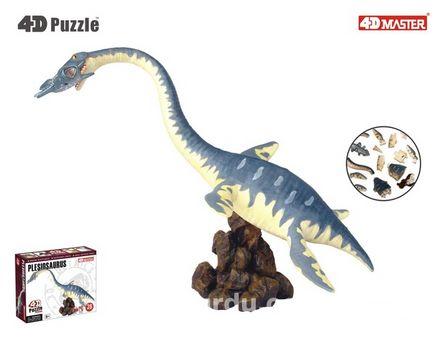 4D Puzzle Plesiosaurus