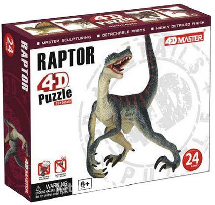 4D Puzzle Raptor