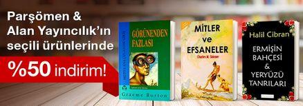 Parşömen & Alan Yayıncılık'ın seçili ürünlerinde %50 indirim!