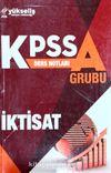 KPSS A Grubu İktisat Ders Notları