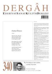 Dergah Edebiyat Sanat Kültür Dergisi Sayı 340 Haziran 2018