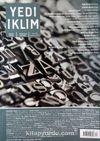 7edi İklim Sayı:339 Haziran 2018 Kültür Sanat Medeniyet Edebiyat Dergisi