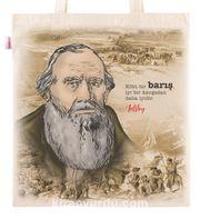 Askılı Bez Çanta - Tolstoy