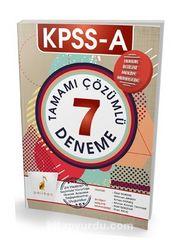 KPSS A Grubu Tamamı Çözümlü 7 Deneme (24 Haziran Seçimiyle Yürürlüğe Girecek Anayasa Değişikliklerine Uygundur)