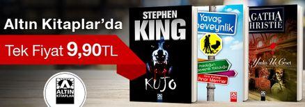 Altın Kitaplar'da Tek Fiyat 9,90 TL Kampanyası