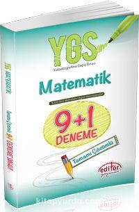 YGS Matematik 9+1 Deneme Tamamı Çözümlü