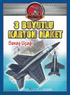 3 Boyutlu Karton Maket - Savaş Uçağı